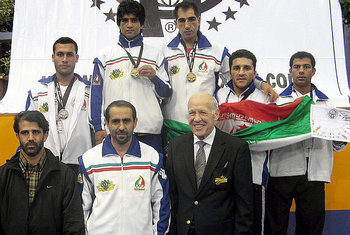 Iranian WKA Kickboxing Team in International Championship 2008 Germany, Berlin